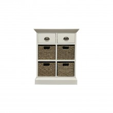 Winslow Two Drawer Four Basket Cabinet