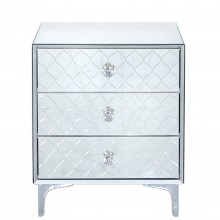 Grace Three Drawer Bedside Chest