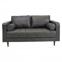 Aspire European Soho 2 Seater Sofa Badlands Cinerous Grey 2 Seat