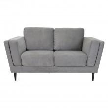 Aspire European Bexley 2 Seater Sofa Roma Grey Velvet 2 Seat
