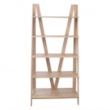 Casa Cleeves Open Bookcase D Chair