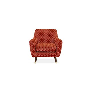 Orla Kiely Rose Chair Chair, Retro Tile Tomato