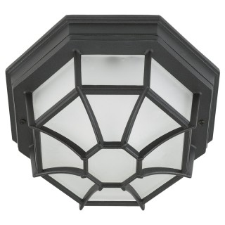 Outdoor Porch Light, Black