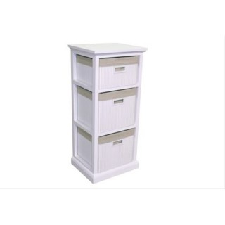 Casa Bamboo Unit 3 Drawer