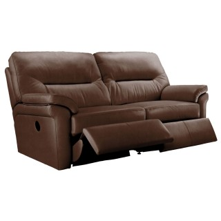 G Plan 3 Seater Double Manual Recliner Sofa