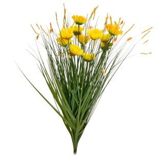 Gerbera Grass Spray Yellow