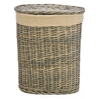 Casa Grey Willow Large Laundry Basket