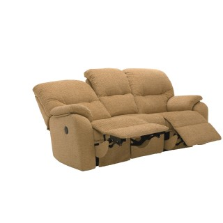 G Plan Mistral 3 Seater Recliner Sofa Double