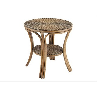 Casa Boston Round Table, Oak Wash