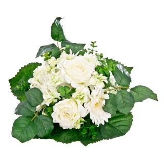 Curled Rose and Gerbera Bush