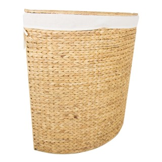 Casa Corner Laundry Bin Large, Natural