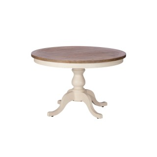 Casa Cotswold Circular Dining Table, White