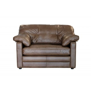 Alexander & James Bailey Snuggler Chair Love Seat, Tumbleweed
