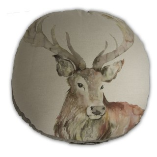 Voyage Maison Mr Stag Large Floor Cushion, Linen