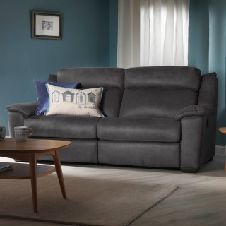 Casa Dallas 2.5 Seater Double Manual Recliner Sofa