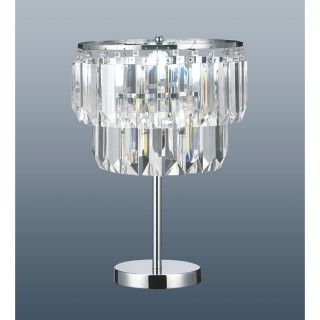 Chichester Table Lamp, Chrome