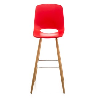 Casa Wasowsky Bar Stool, Red