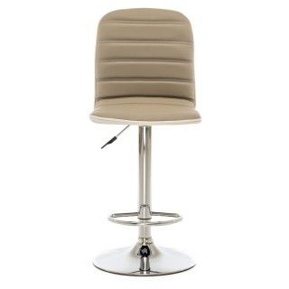 Casa Comet Barstool Taupe/White
