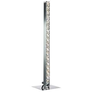 Casa Hatton Led Table Lamp, Chrome