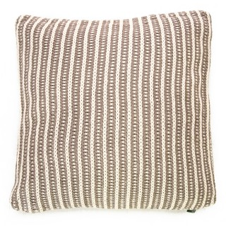 Casa Two Tone Tinke Cushion, Beige
