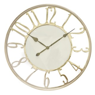Casa Kensington Wall Clock, Silver