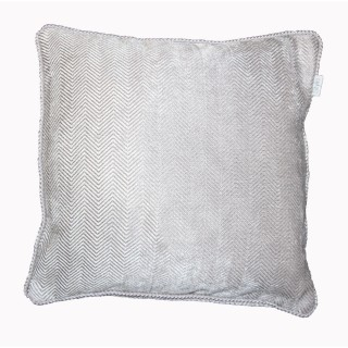 Gordon John Emperor Feather Filled Cushion Onesize, Silver