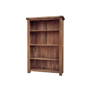 Casa Bordeaux Medium Wide Bookcase Bookcase, Oak