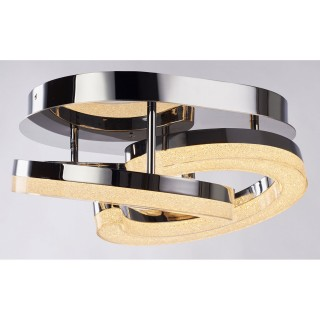 Casa Coco Diamond Ceiling Light, Chrome