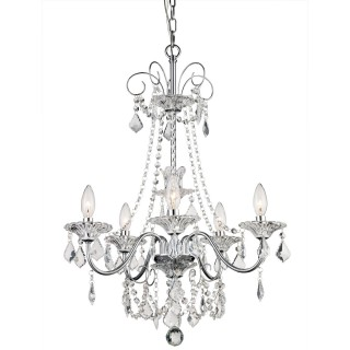 Casa Taylor 2 Crystal Chandelier, Chrome