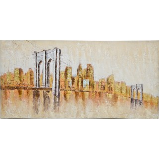Casa Brooklyn Bridge Oil Painting