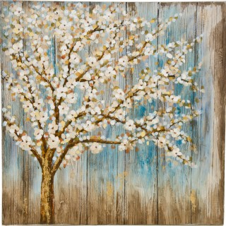 Casa Winter Blossom Oil Painting