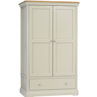 Casa Cherbourg Gentlemans 1 Drawer Wardrobe