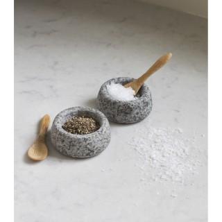 Garden Trading Salt And Pepper Pots, Granite