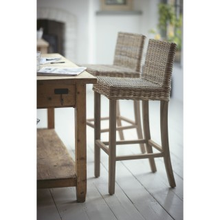 Garden Trading Bembridge Bar Stool, Rattan