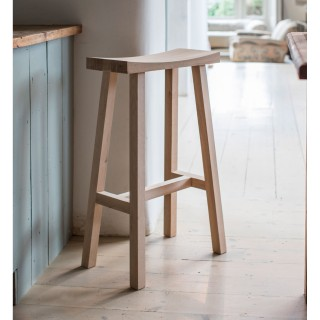 Garden Trading Tall Clockhouse Stool, Oak
