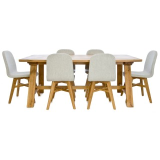 Casa Castle Table & 6 Chairs