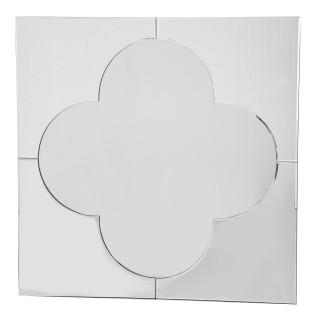 Casa Taj Square Mirror, Silver
