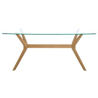 Casa Garda Glass Dining Table