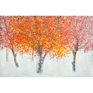 Autumn Glow Oil Painting on Canvas