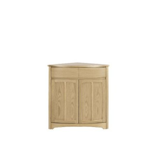 Nathan Shades Oak Shaped Corner Base Sideboard