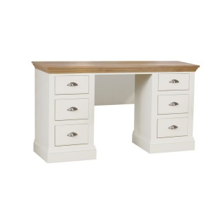 Tch Cannes Dbl Ped Dressing Table Dresstable