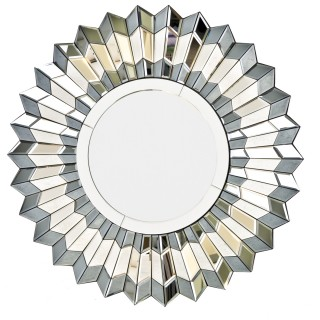 Casa Silver Star deco Mirror