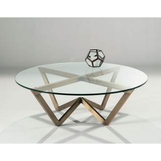 Casa Angle Circular Coffee Table