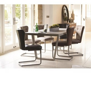 Casa Petra Table & 4  Oscar Chairs