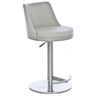Casa Cygnus Barstool - Light Grey
