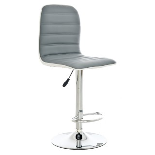 Casa Stool Comet Stool - Light Grey/White