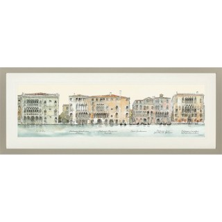 Art Marketing Palazzi Framed Picture