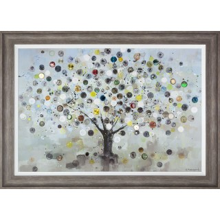 Art Marketing Watch Tree Framed Picture