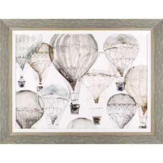 Art Marketing High Flyers Framed Picture, Beige
