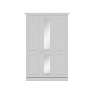 Casa Clovelly Tall 3 Door Mirror Wardrobe